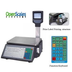 Weight Scale with Label Printing