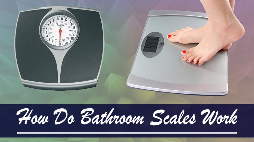 An explanation of how bathroom scales work