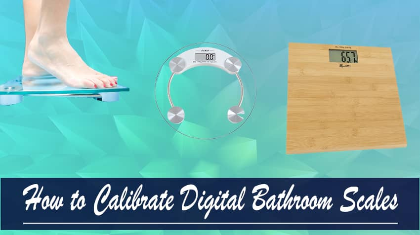 how to calibrate digital scale