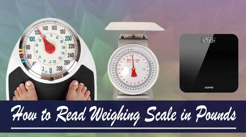 Weighing Scales in Pounds