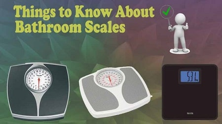 explain the working of an bathroom scale