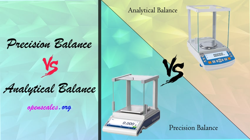 difference between precision balance and analytical balance